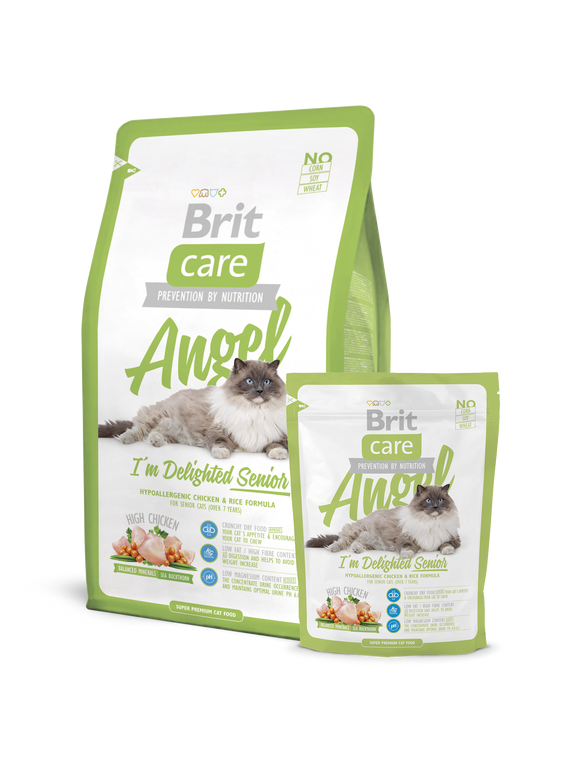 Brit Cat Angel Senior - Targa Pet Shop