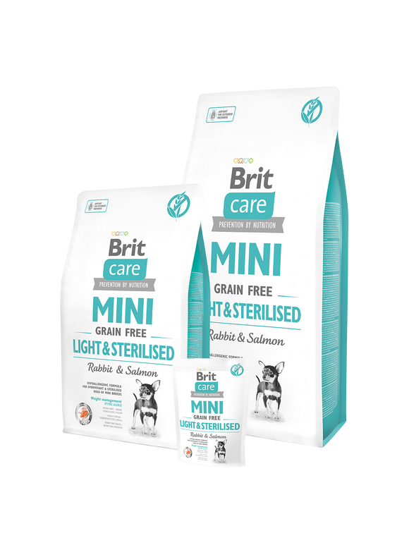 Brit Care Mini Light & Sterilised - Targa Pet Shop