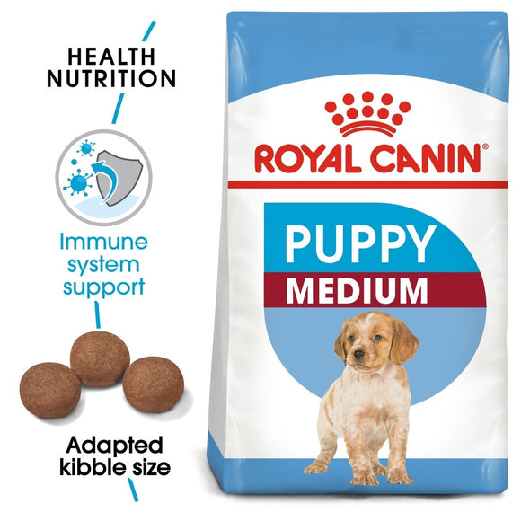 Royal Canin Medium Puppy Dog Food - Targa Pet Shop