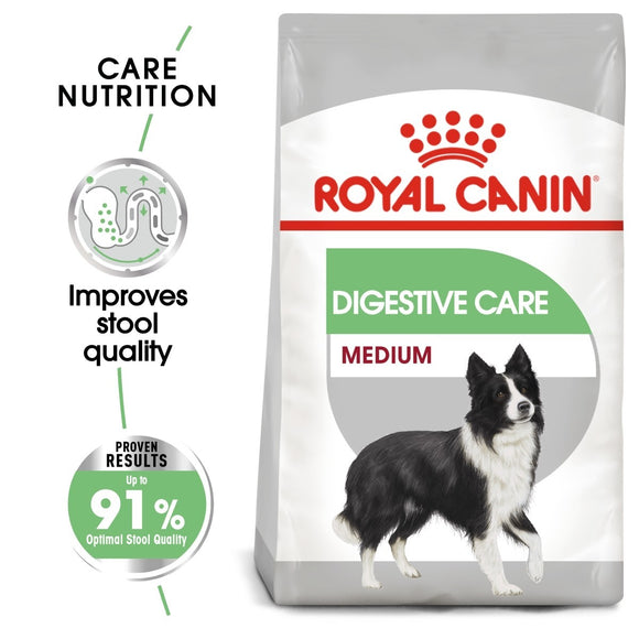 Royal Canin Medium Digestive Care Dry Dog Food - Targa Pet Shop