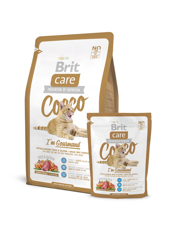 Brit Care Cat Cocco I'm Gourmand - Targa Pet Shop