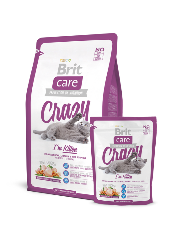 Brit Care Cat Crazy I'm Kitten - Targa Pet Shop