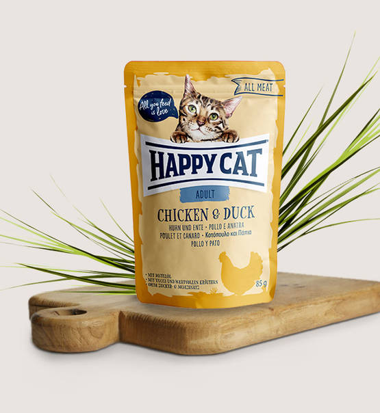Happy Cat All Meat Adult Chicken & Duck - Targa Pet Shop