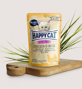 Happy Cat All Meat Kitten/Junior Chicken & Duck - Targa Pet Shop