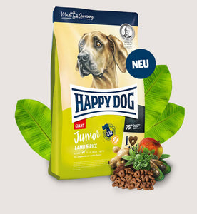 Happy Dog Junior Giant Lamb & Rice - Targa Pet Shop