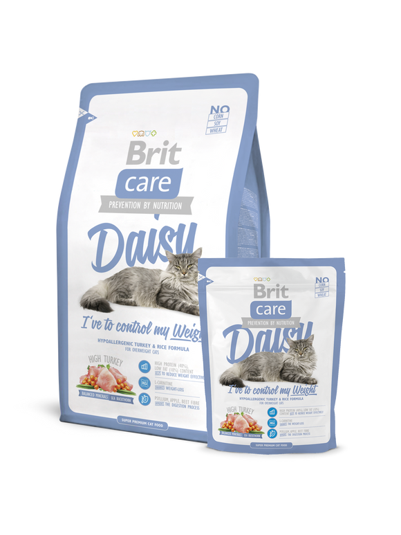 Brit Care Cat Daisy I've to control my Weight - Targa Pet Shop