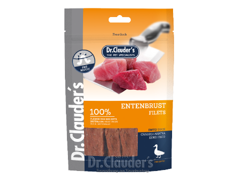 Dr. Clauder's Duck Breast Filets - Targa Pet Shop