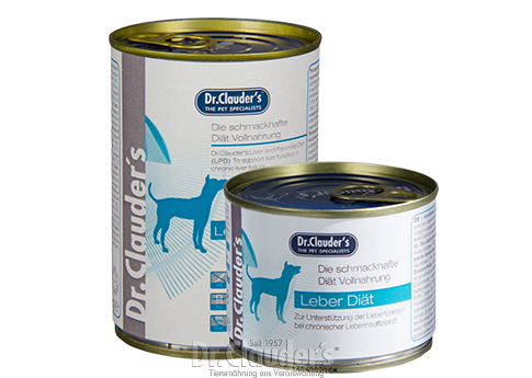 Dr.Clauder's Diet LPD Liver - Targa Pet Shop