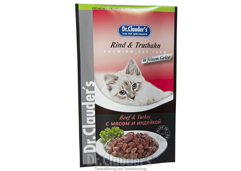 Dr. Clauder's High Premium Beef & Turkey - Targa Pet Shop