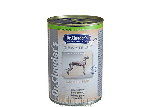 Dr. Clauder's Selected Meat Sensible: Pure Salmon - Targa Pet Shop