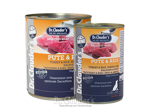 Dr. Clauder's Selected Meat Turkey & Rice - Targa Pet Shop