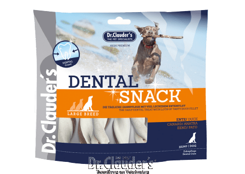 Dr. Clauder`s Dental Snack Duck - Large Breed - Targa Pet Shop