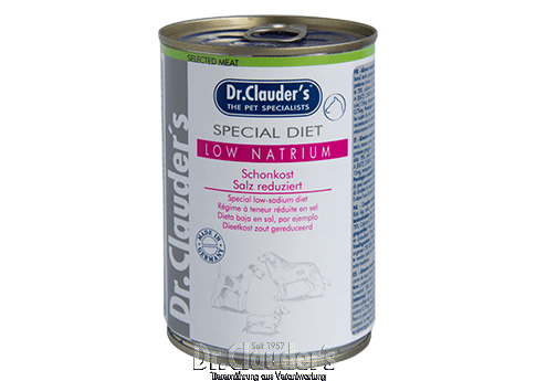 Dr. Clauder's Special Diet Low Natrium - Targa Pet Shop
