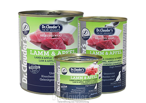 Dr. Clauder's Selected Meat: Lamb & Apple - Targa Pet Shop