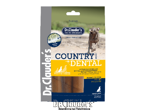 Dr. Clauder`s Country Dental Snack Chicken - Medium Breed - Targa Pet Shop
