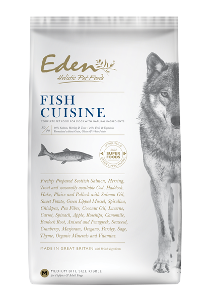 EDEN 80/20 FISH CUISINE DOG FOOD - Targa Pet Shop