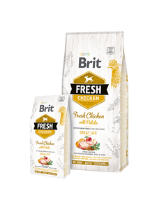 Brit Fresh Chicken with Potato Adult Great Life - Targa Pet Shop