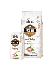 Brit Fresh Turkey with Pea Adult Fit & Slim - Targa Pet Shop