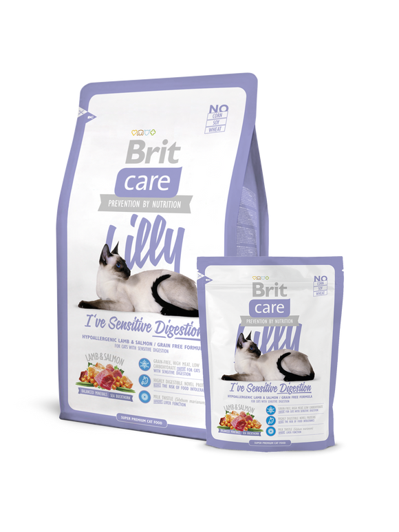 Brit Care Cat Lilly I've Sensitive Digestion - Targa Pet Shop