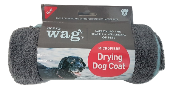 Henry Wag Microfibre Drying Coat - Targa Pet Shop