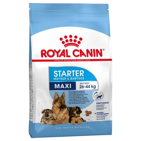 Royal Canin Maxi Starter Mother & Babydog Dry Food - Targa Pet Shop