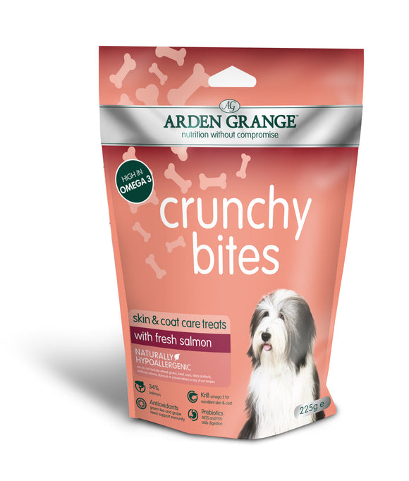 Arden Grange Crunchy Bites – with Fresh Salmon - Targa Pet Shop