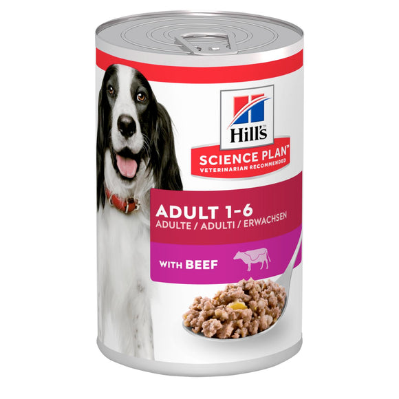 HILL'S SCIENCE PLAN Adult Dog Food with Beef