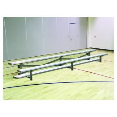 15' All-Aluminum Tip Roll Bleacher (2-Row)