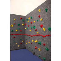 Everlast Climbing Magna Traversewall 8' X 20' Package With Cordless Matlocking System