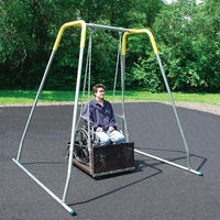 Large Wheelchair Swing And Indoor Frame