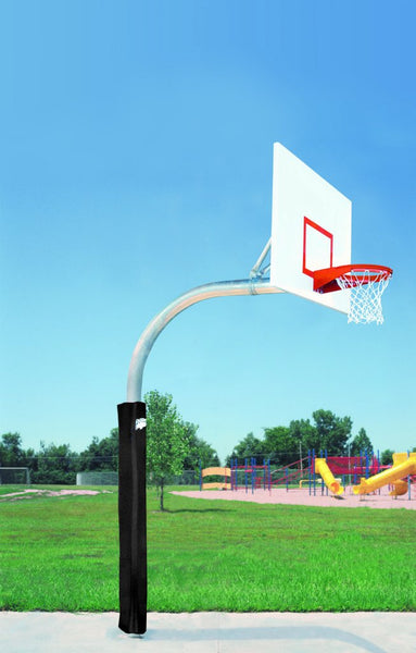 "5 9/16"" Mega Duty Steel Rectangle Playground Basketball System"