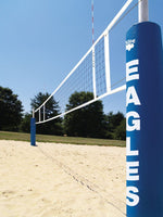 Centerline Sand Volleyball Standards With Winch