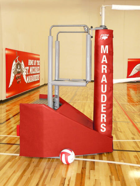 Shortened Centerline Aluminum Volleyball Standard with Winch