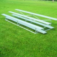 15 Feet 3 Tier Outdoor All Aluminum Weatherbeater Bleacher