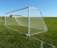 "18.5' x 6.5' Club 3"" Diameter Portable Aluminum Soccer Goals"