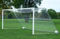 "18.5' ShootOut 4"" x 4"" Portable Aluminum Soccer Goals"