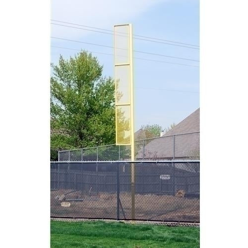 20feet Surface Mount Baseball Foul Pole