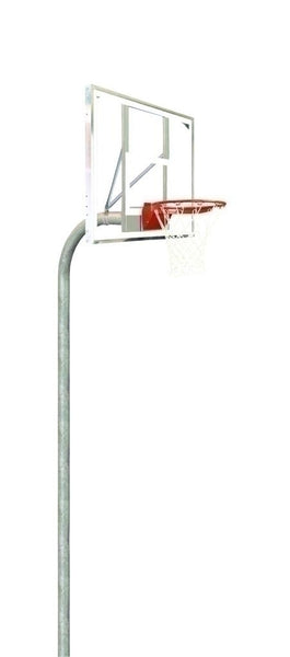 4 1/2 Inch Heavy Duty Glass Rectangle Playground Basketball System