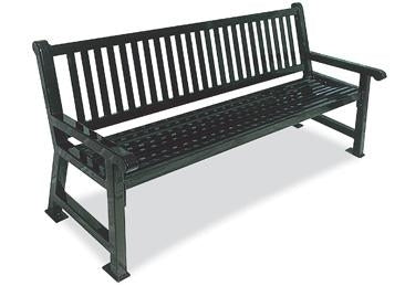 4 Feet Savannah Bench, Bow
