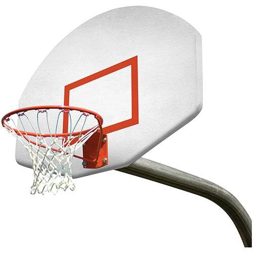 5' Outdoor Gooseneck System With Standard Rim Nylon Net