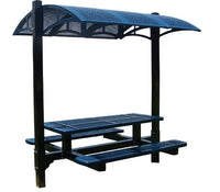 6 Feet Canopy Table, Diamond - Pc Frame