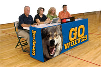8 Feet Sport Pride Graphic Convertible Scorers Table