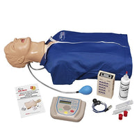 "Advanced ""Airway Larry"" Adult Torso With Defib Ecg Aed"