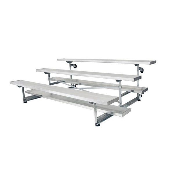 Tip Roll Bleacher Seating , 16' , 3 Rows
