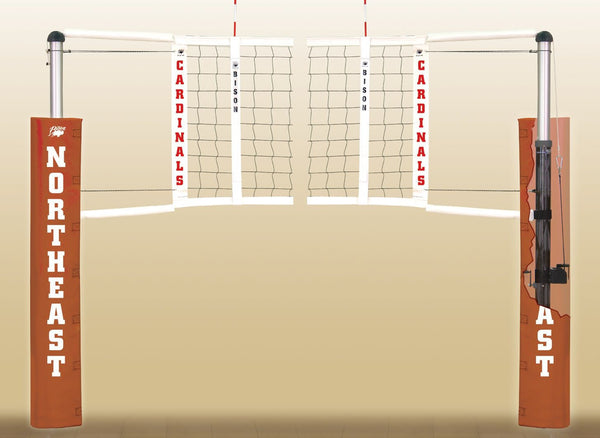 Carbonmax Volleyball Standards With Winch Only