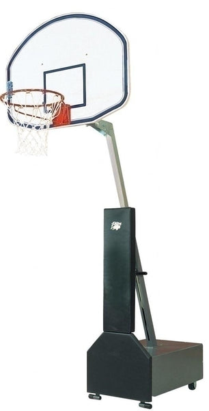 Club Court Fiberglass Adjustable Portable Basketball System