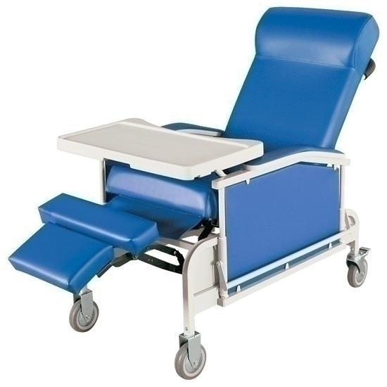 Convalescent Recliner With Drop Arm
