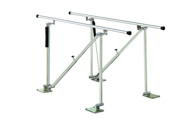 Deluxe Height Adjustable Floor Parallel Bar, 10'