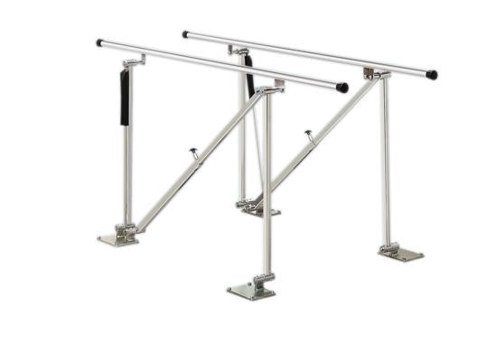 Deluxe Height Adjustable Floor Parallel Bar, 7'