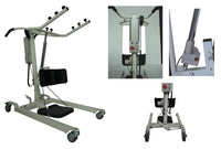 Electric Power Stand Up-Lifter With Adjustable Base